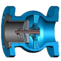 DFT GLC Flanged Check Valve